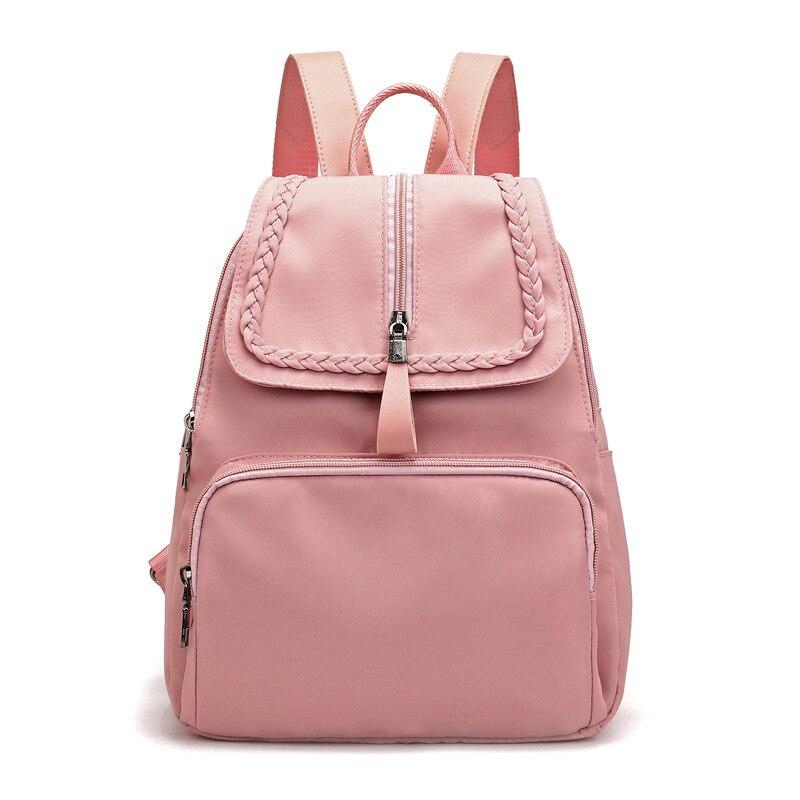 Sac à dos femme sac à dos mode grand tissu Oxford toile femme voyage sac à dos femme