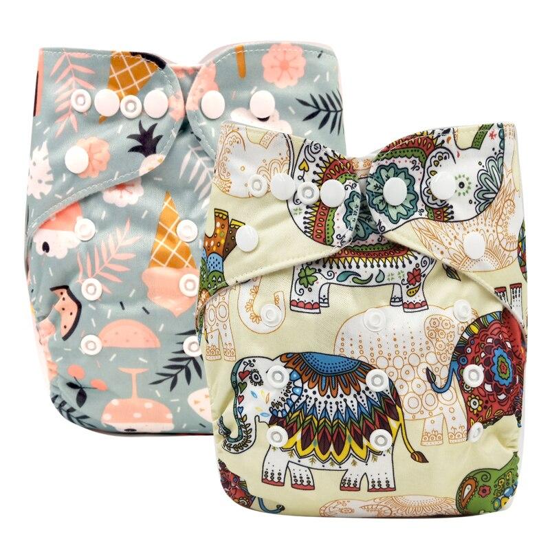 PORORO 3-15 кг регулируемый размер бамбуковый уголь внутренний карман подгузник, Детские многоразовые подгузники с двойной ластовицей ноги