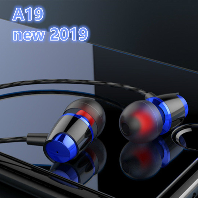 A19 TWS wired earphone For Xiaomi Mi A1 5X 5 5S Plus 5C 4C 4 4i 4S Mi Pad 3 2 Max Max2 Mix Mix2 Note 4 3 2 Headphones 3.5mm image