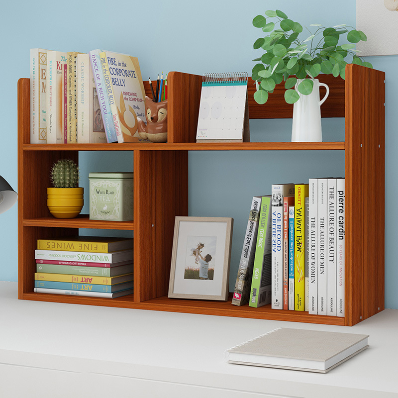 Simplicity Small Bookcase Table For Student Minimalist Modern Province Space Storage Small Bookcase Economical Desktop Storage S