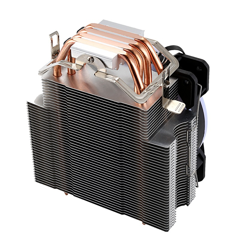 12cm CPU <font><b>Cooler</b></font> Without Fan 4 Heat Pipe Cpu Heatsink for 775/1150/1155/<font><b>1156</b></font>/1366 for AMD All image