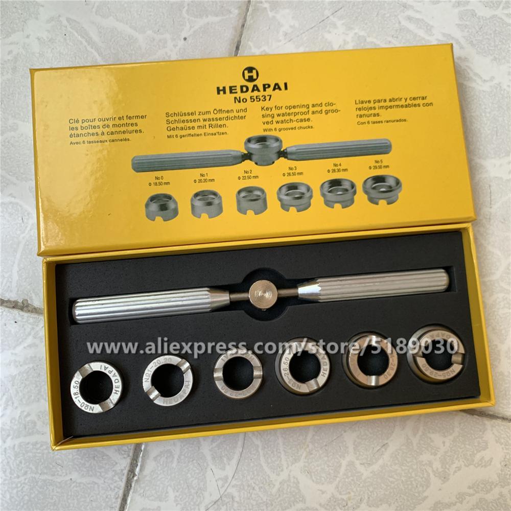 Инструмент для ремонта часов RLX & TD-водонепроницаемый чехол для часов в стиле устриц #5537