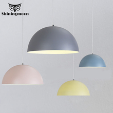 Nordic Macaroon Led Pendant Lights Modern Colour Pendant Lamp Luminaire Suspension Kitchen Dinning Room Lustre Hanging Lights nordic creative seagull pendant lights acrylic led pendant lamp bar dinning room suspension luminaire kitchen light fixtures