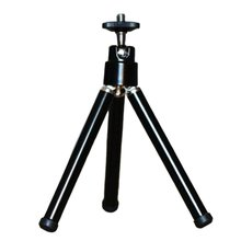Mobile Phone Tripod Camera Selfie Mini Aluminum Alloy Desktop Two-section Small Stand for and Tablet