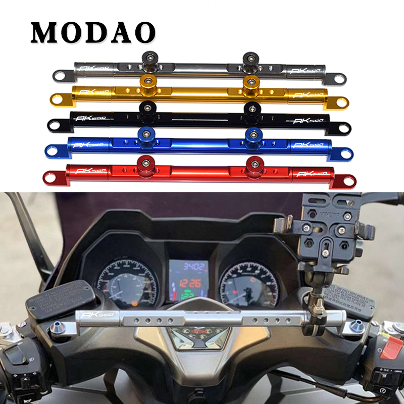 For <font><b>KYMCO</b></font> AK550 <font><b>AK</b></font> <font><b>550</b></font> 2017-2018 CNC aluminum motorcycle multi-function crossbar damping balance bar accessories image