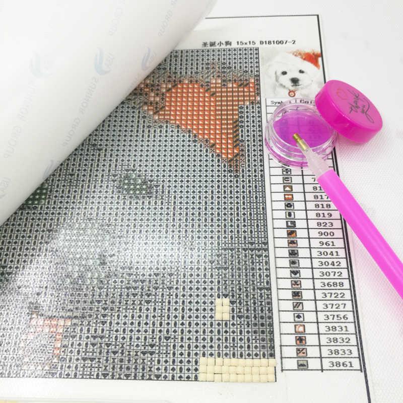 Neue Verkauf Werkzeuge Flasche Wachs Für Diamant Malerei Kreuz Stich DIY 5D Diamant Stickerei Zubehör Werkzeuge 10 Farbe Ton Kleber schlamm