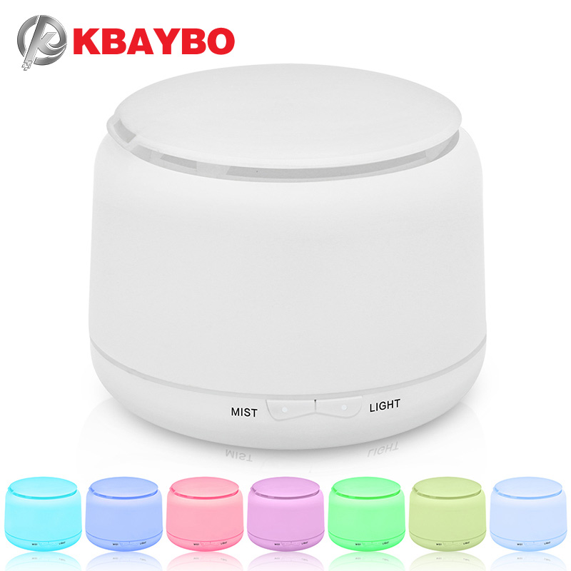 250ml Ultrasonic Humidifier Mist Humidifier Aroma Essential Oil Diffuser Mist Humidifier Aromatherapy Diffuser With 7 Color LED