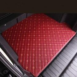 Bez zapachu wodoodporne dywaniki samochodowe trwałe dywaniki niestandardowy specjalny samochód maty do bagażnika dla Peugeot 3008 2008 4008 5008 207CC 308CC RCZ 508