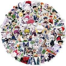 100pcs New Full-time Hunter Classic Anime Stickers Waterproof Suitcase Guitar Skateboard Graffiti Cartoon Pvc Stickers for Kids