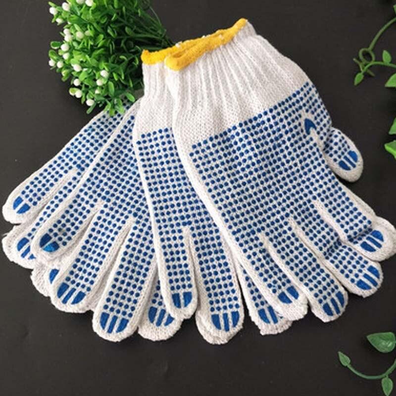 Dispensing Labor Gloves Cotton Yarn Gloves Non-slip Wear-resistant Brick Moving Protective Gloves