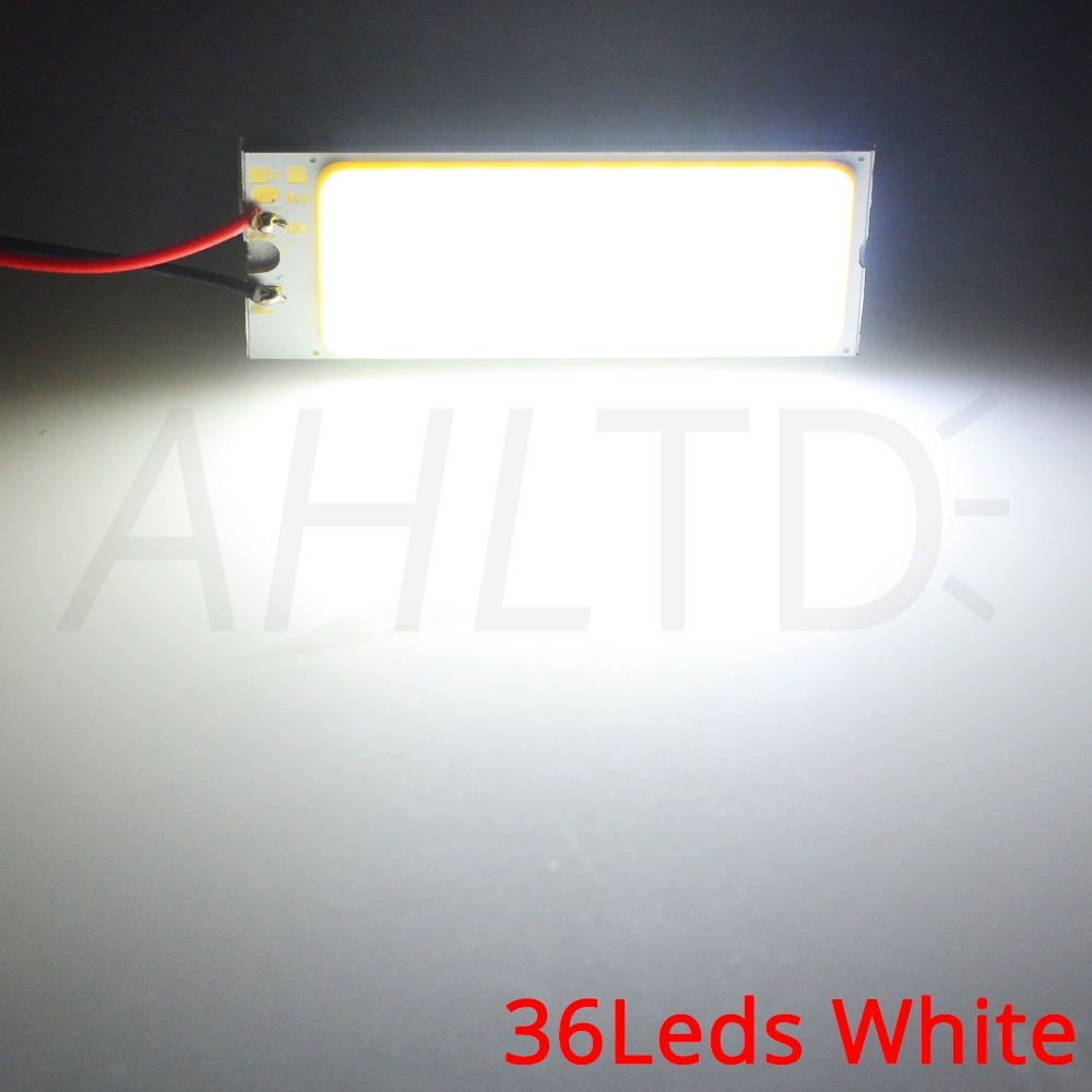 H12ec781787f04f3aae0f981f475f5fa9y Car Led T10 C5W Cob 24 36 48SMD White Reading Car Led parking Bulb Auto Interior Panel Light Festoon License Plate light Bright