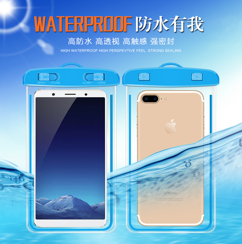 Doogee N20 Y9 Plus N10 S40 X90L Y7 Y8C X10S BL5000 BL7000 X50L X53 Swimming Phone case waterproof bag seal protection diving set image