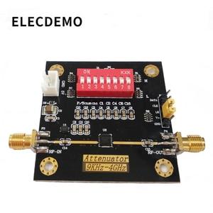 Image 1 - PE43702 module digital RF attenuator module bandwidth 9K~4GHz 0.25dB step accuracy maximum gain 31.75dB