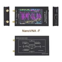 Nanovna-f VNA Nano analizador portátil de red vectorial SWR Meter 50KHz-1000MHz 4,3 pulgadas IPS TFT Digital de onda corta MF HF VHF