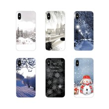 Voor LG G3 G4 Mini G5 G6 G7 Q6 Q7 Q8 Q9 V10 V20 V30 X Power 2 3 K10 k4 K8 2017 Soft Case Covers Winter New York Central Park Sneeuw(China)