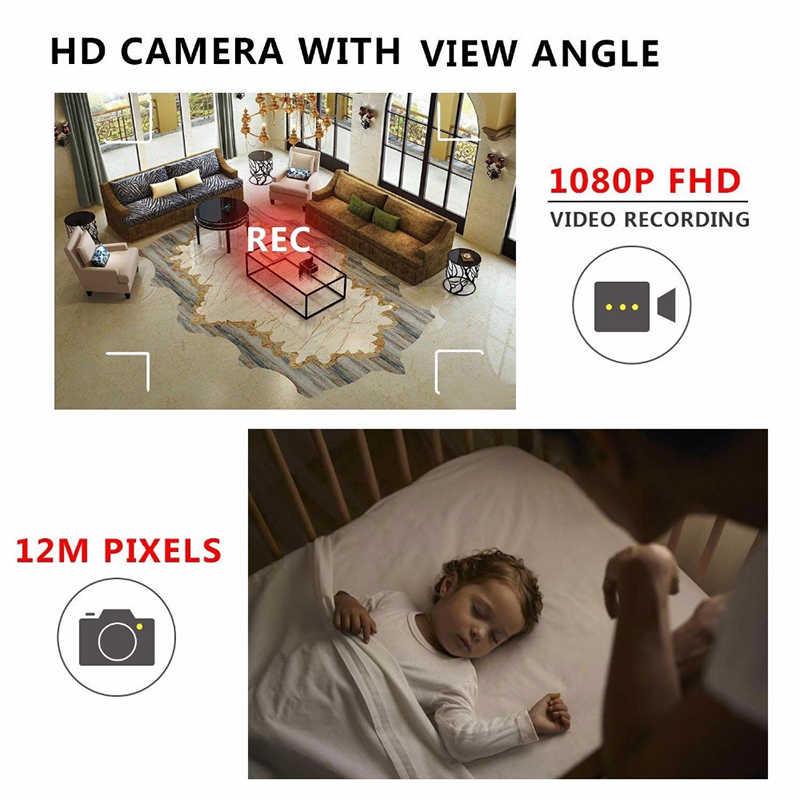 Mini cámara más pequeña de 1080P, videocámara Full HD, visión nocturna infrarroja, Micro cámara de detección de movimiento, IR-CUT DV, compatible con tarjeta TF oculta