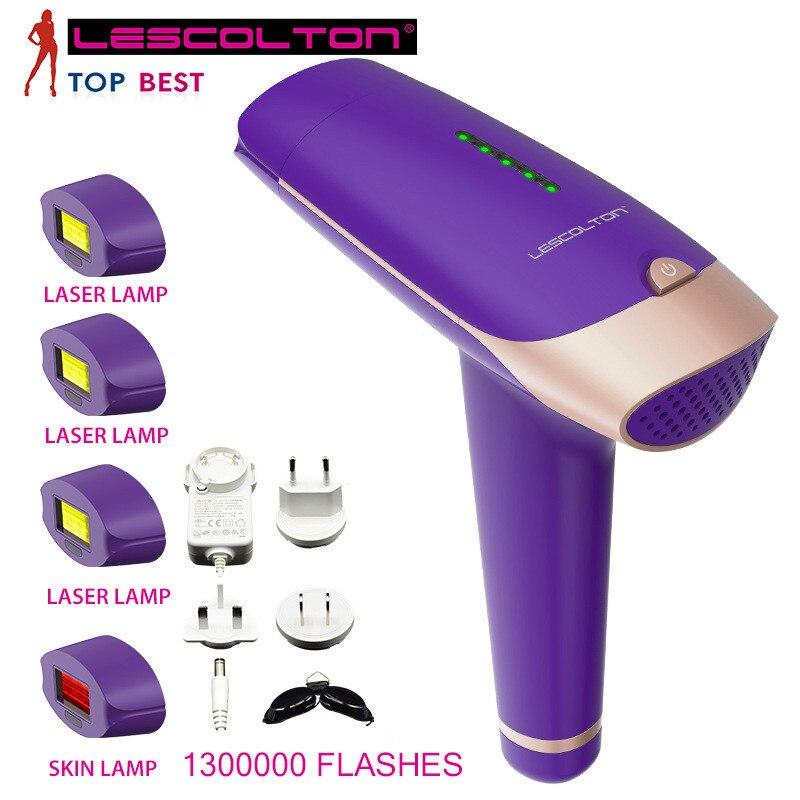 Elétrica da Remoção do Cabelo do Laser do Ipl Shot com Dom Mais de 7000000 Depilador Corpo Facial Profissional Mini Máquina Vezes Livre