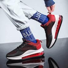 Nowy w 2020 poduszka powietrzna sneakersy mężczyźni oddychające mężczyźni trenerzy przytulne obuwie zapatillas hombre męskie buty scarpe uomo
