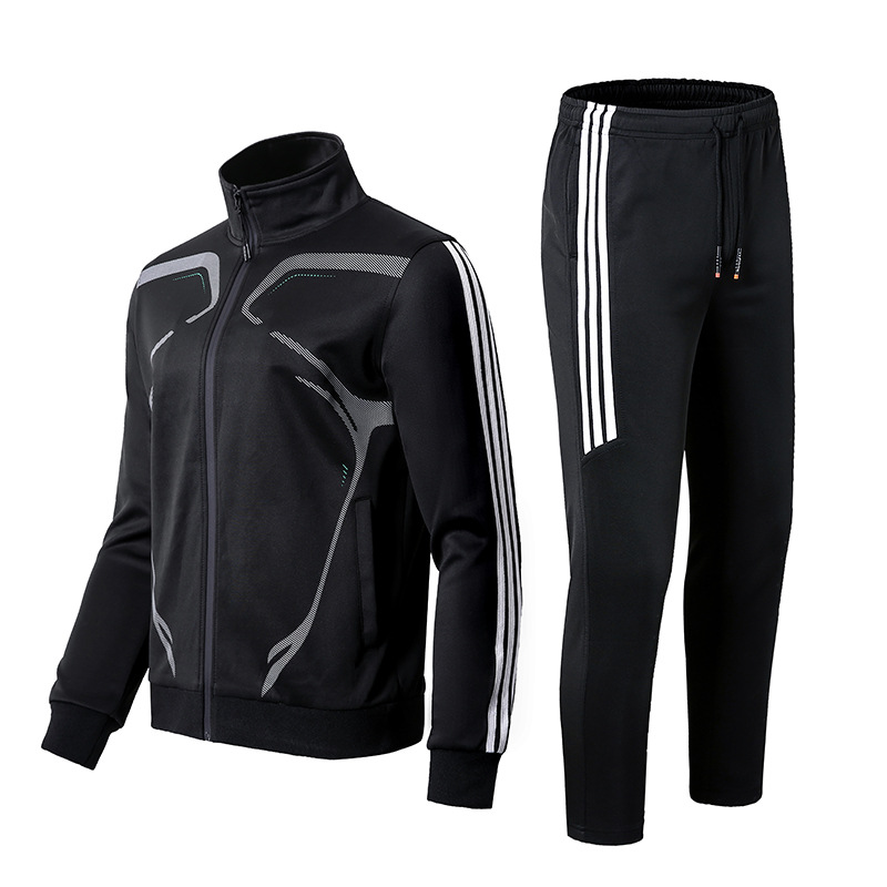 Youth Fashion Trend Sports Set Autumn New Products Two-Piece Set Multi-color Selectable Comfortable Fabric