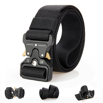 цена на Cobra Adjustable tactical belt nylon special forces pants with multi-function outdoor male belt sports training belt Hunting Acc