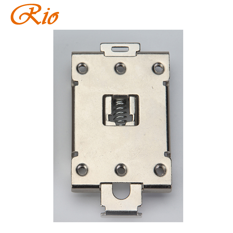 1PCS single phase <font><b>SSR</b></font> <font><b>40DA</b></font> 25DA AA DD 35MM DIN rail fixed solid state relay clip clamp with 2 mounting screws image