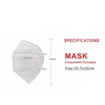 Reusable Face Mask bacteria  Filter Anti Dust Respirator FFP3 Mask N95 FFP1 FFP2 Face Mouth Masks PM2.5 Dust Mask TSLM2 4