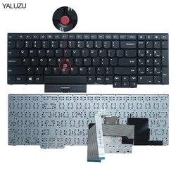 Nowa klawiatura dla Lenovo dla IBM dla ThinkPad E530C E530 E545 E535 E530 US angielski układ 04Y0301 0C01700 ucc2020as3 US