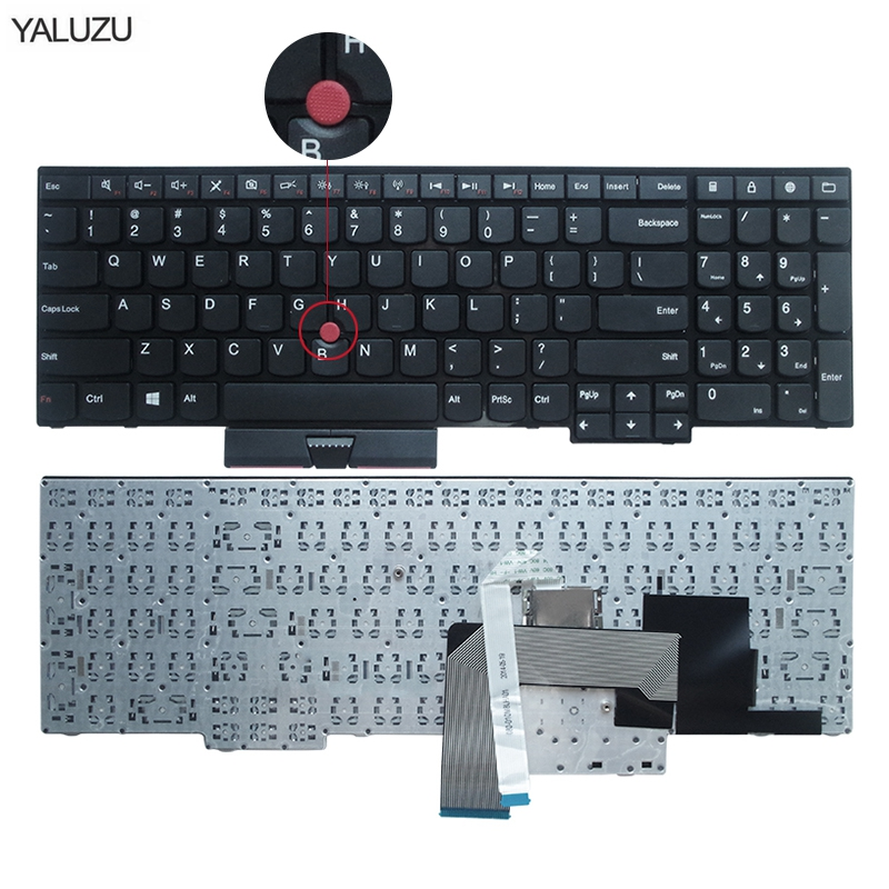 New Keyboard For Lenovo For IBM For ThinkPad E530C E530 E545 E535 E530 US English Layout 04Y0301 0C01700 V132020AS3 US