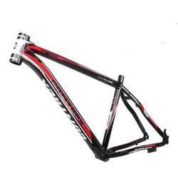 Último marco MTB 26*17 Línea interior 1750g bicicleta de montaña marco 26er aleación de aluminio marco brillante bicicleta piezas de bicicleta de 17 pulgadas