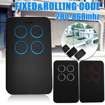 280-868MHZ Universal Fix Rolling Gate Garage Door Remote Control Duplicator Tool For Alarm Auto Door High quality And Durable N1 цена 2017
