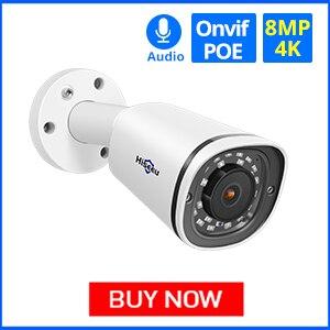 Hiseeu 4K Bullet POE Camera