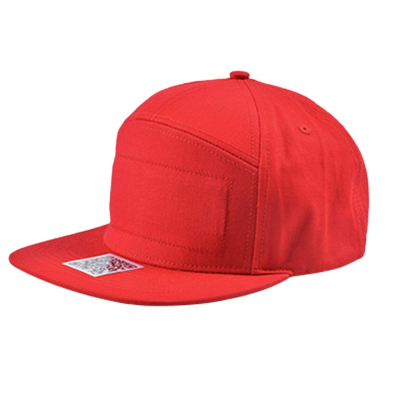 LED Display Cap Smartphone App Controlled Glow DIY Edit Text Hat Baseball Cap Red and Black New image