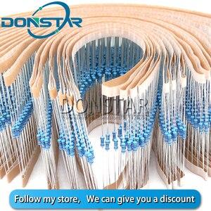 Металлический пленочный резистор 100, 1/4 Вт, 1R ~ 22M, 1%, 100R, 220R, 1K, 1,5 K, 2,2 K, 4,7 K, 10K, 22K, 47K, 100K, 470K, 100, 220, 1K5 2K2, сопротивление 4K7 Ом|Резисторы|   | АлиЭкспресс