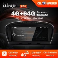 4G 64G ips экран Android 9,0/7,1 автомобильный Радио gps для BMW 5 серии E60 E61 E63 E64 E90 E91 CCC CIC ГЛОНАСС навигация без DVD