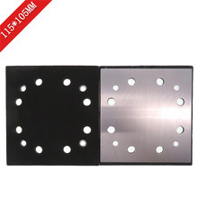 Replacement 115*105mm Square Sandpaper Polishing Disc 12 Hole Disk Sand Sheets for DWE6411 Sanding Machine