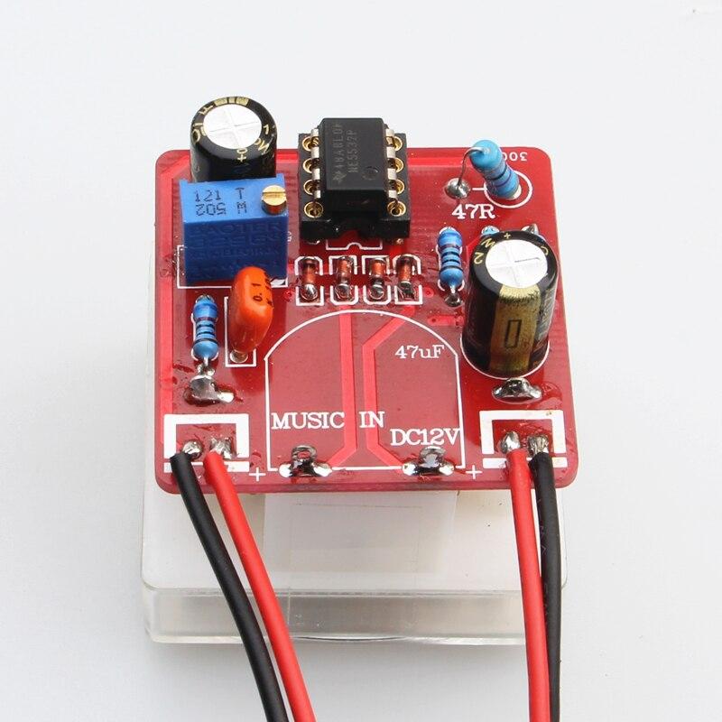 VU Level Meter Driver Board DIY Tube Amplifier Power Amplifier Meter Front Driver Board One-to-one M