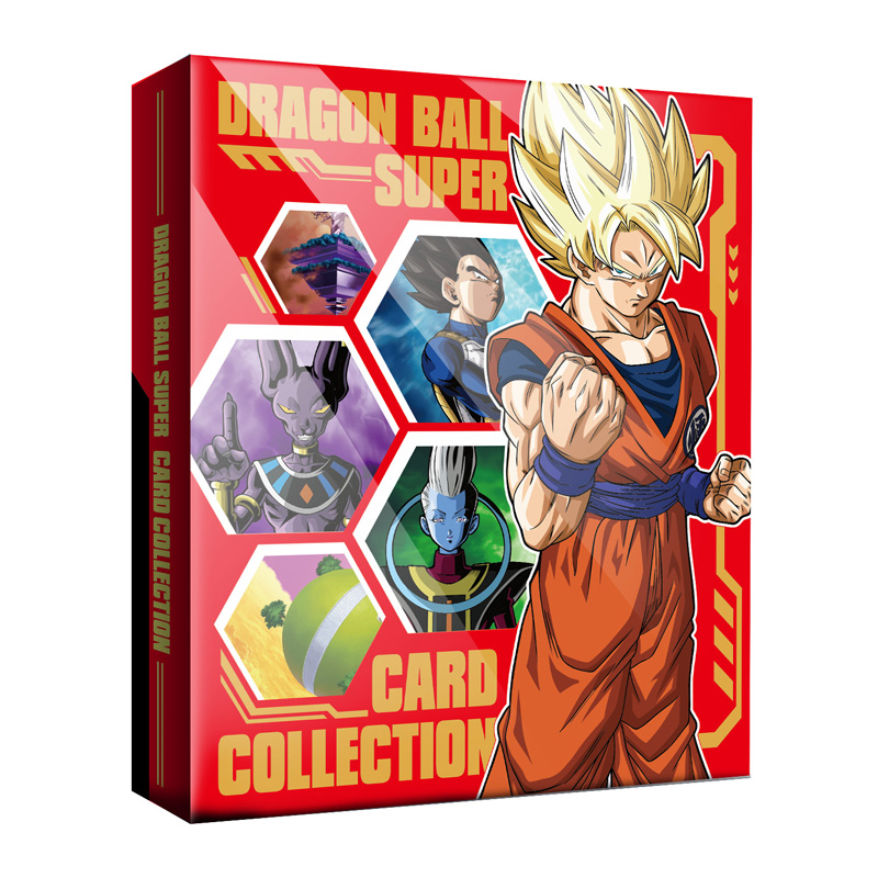 31.5*26CM Super Dragon Ball Z Card Collection Heroes Battle Ultra Instinct Goku Vegeta Game Cards