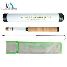 Maximumctach Mini Tenkara Fly Fishing Rod 285CM/360CM 15/16Sec Telescoping Tenkara Fly Rod