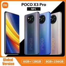 Versión Global POCO X3 Pro NFC 6GB 128GB / 8GB 256GB teléfono móvil Snapdragon 860 A 120Hz DotDisplay 732G 48MP Cámara 5160 batería