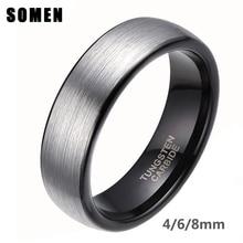 plata 6mm anillos compromiso