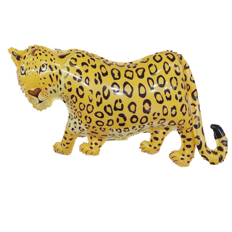 Гигантские 36-дюймовые леопардовые шары, воздушные шары с животными, товары для дней рождения, гепард, Globos, детские игрушки