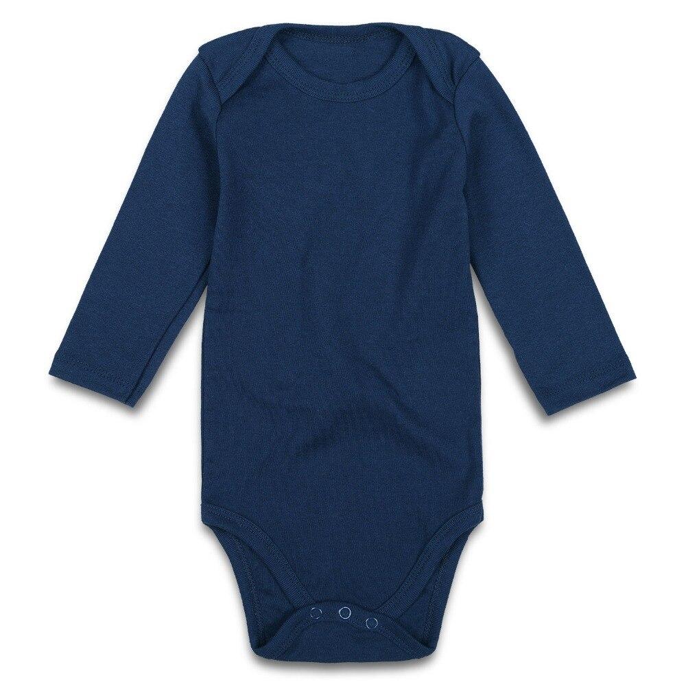 navy baby bodysuit