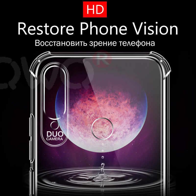 Borda reforçada caixa de proteção Para xiaomi Redmi Nota 7 8 Pro K20 5 Mais caso de telefone silicone Macio Para Redmi pro 7a 6a 4a 4X Capa