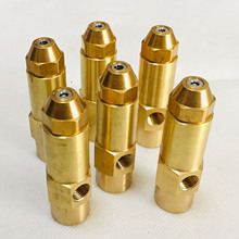 Fuel nozzle siphon air atomizing two-fluid diesel heavy oil waste Alcohol-based fuel burner