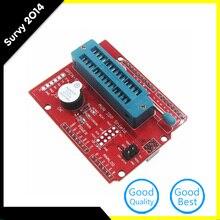 цена на MLLSE AVR ISP Shield Burning Bootloader Programmer for Arduino UNO R3 AA3468 diy electronics