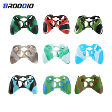 цена на Silicone Protective Case Skin Cover For Xbox 360 Controller Anti-Slip Rubber Soft Protector Case For Xbox360 Gamepad Accessories