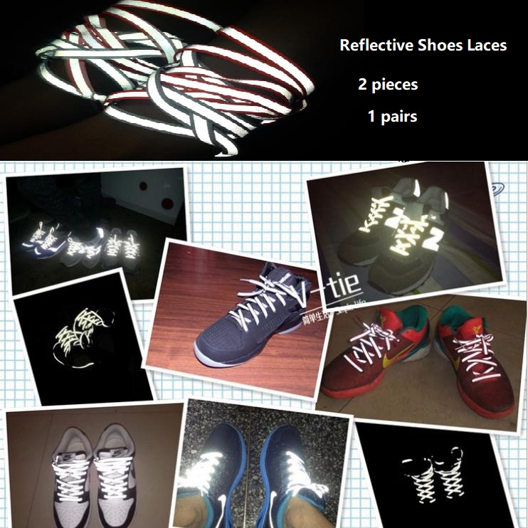 Shoelace Reflective Strip Reflective Tape Of Popular Casual Hiker Shoes