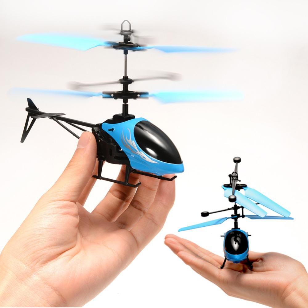 Kuulee Children Intelligent Toy Infrared Induction Helicopter Mini Flying Toys Boys Girls High Quality Child Interesting Toys