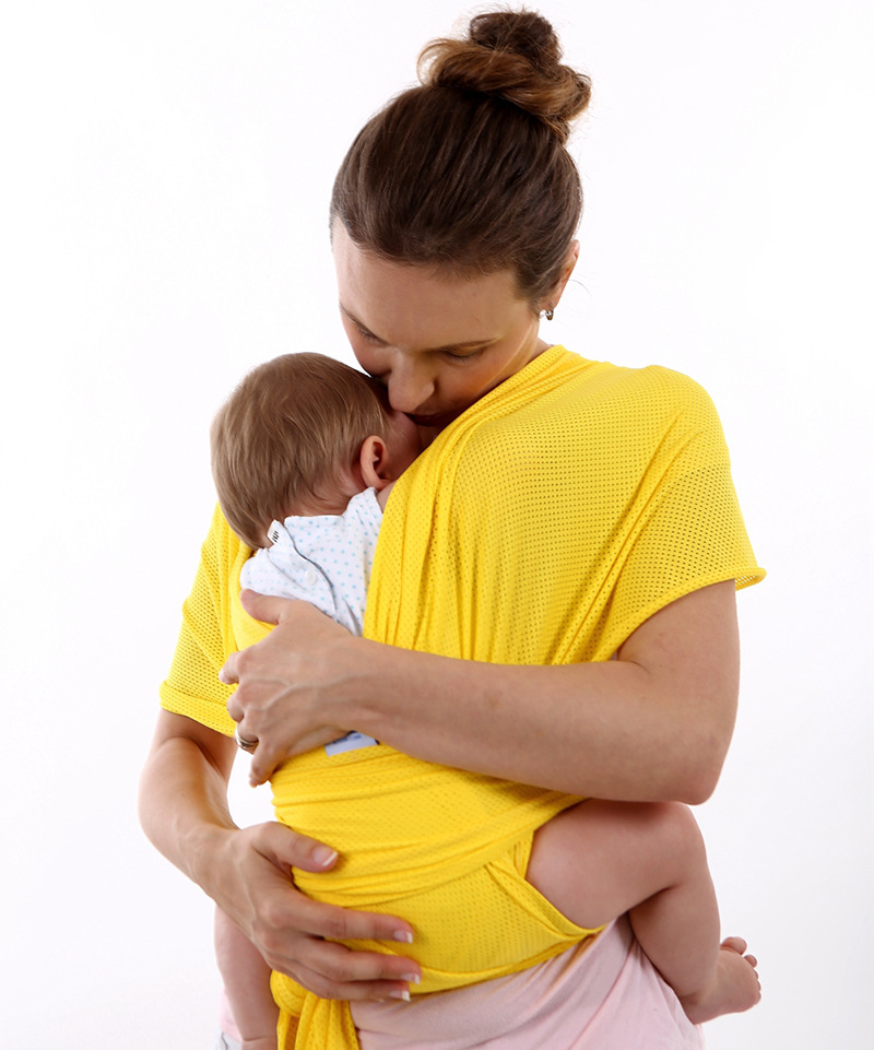 Baby Bag Is Breathable Mesh Cross-over Baby Sling Strap Multi-function Baby Child Strap