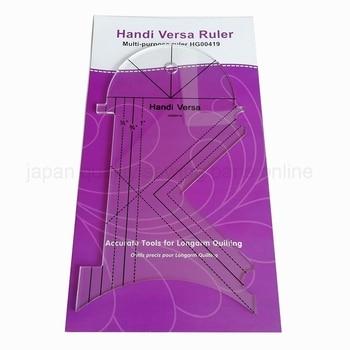 Regla multiusos para máquina de coser Handi Versa, herramientas para acolchar # HG00419